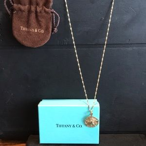Tiffany & Co gold necklace